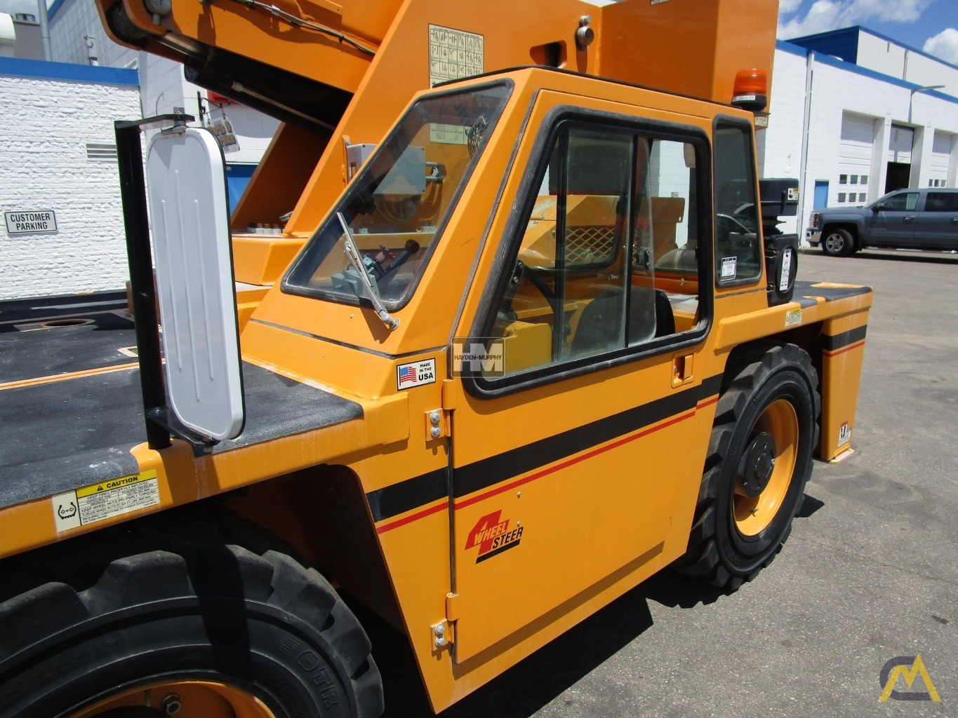 Broderson IC-200-2H 15-ton Industrial Carry Deck Crane 16