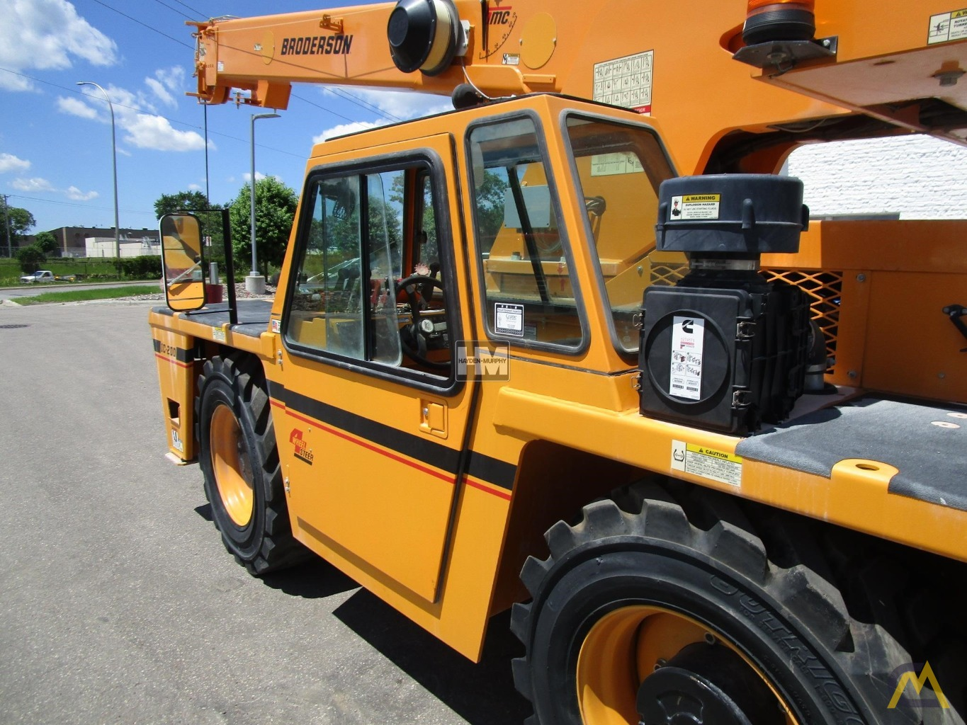Broderson IC-200-2H 15-Ton Industrial Carry Deck Crane 17