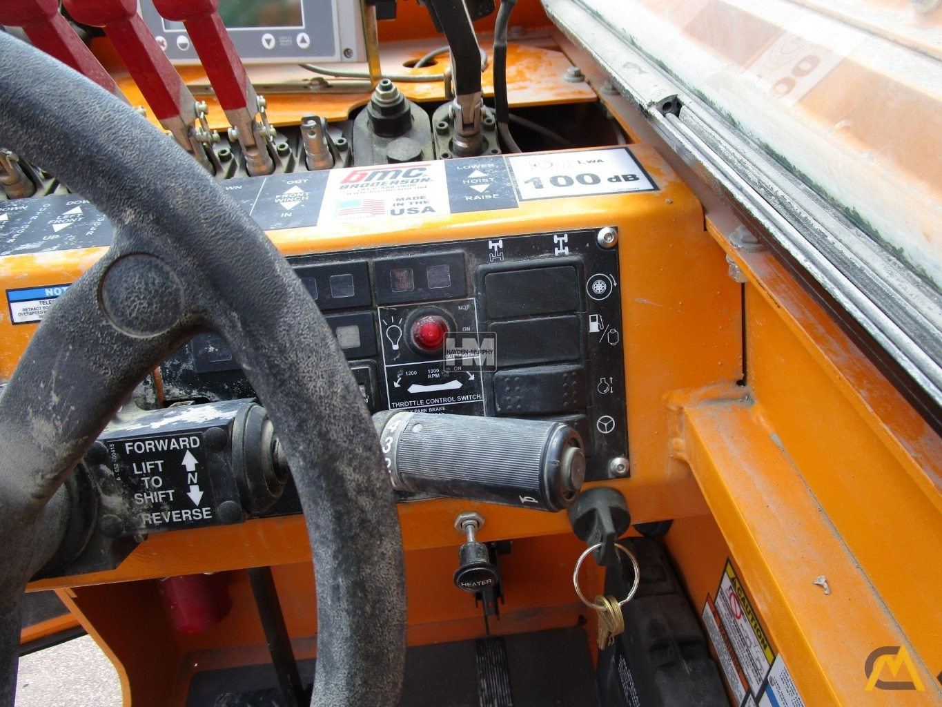 Broderson IC-200-2H 15-ton Industrial Carry Deck Crane 22