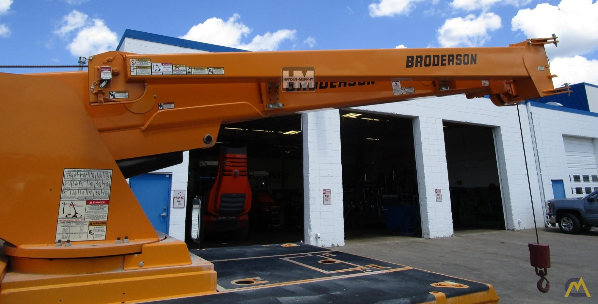 Broderson IC-200-2H 15-ton Industrial Carry Deck Crane 7