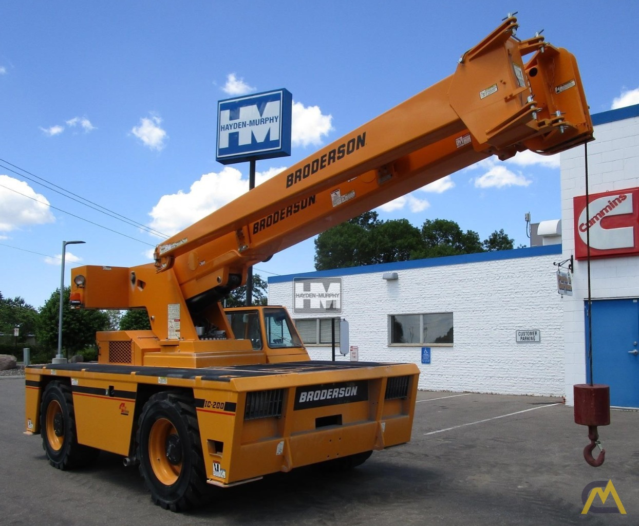 Broderson IC-200-2H 15-Ton Industrial Carry Deck Crane 2