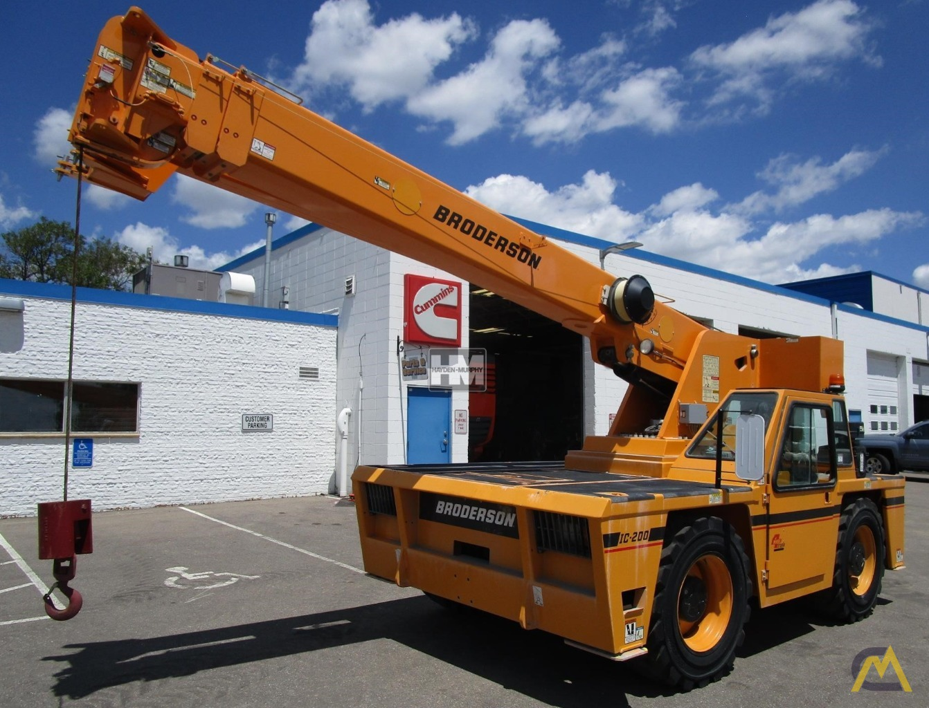 Broderson IC-200-2H 15-Ton Industrial Carry Deck Crane 28
