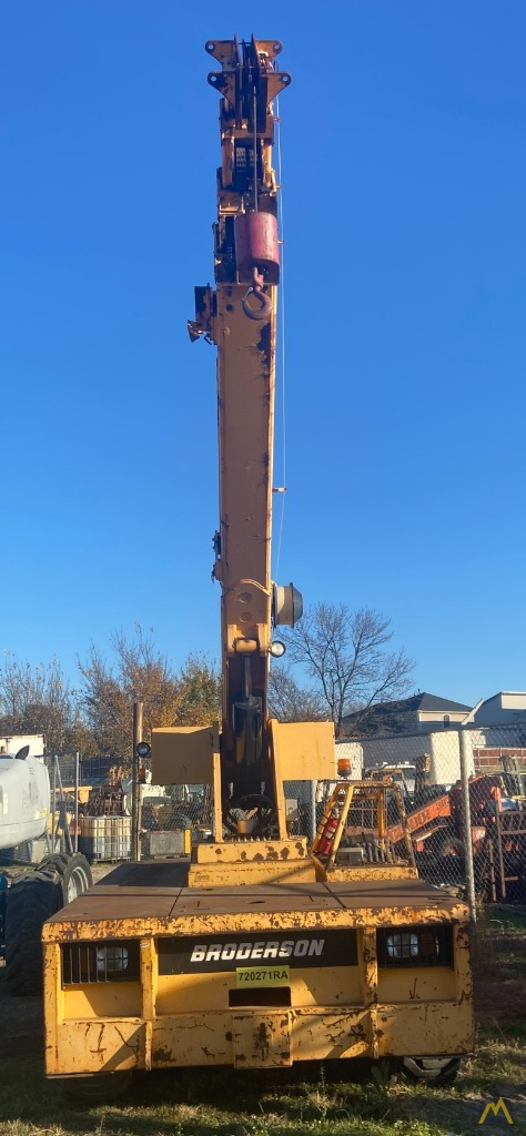 Broderson IC-200-3H 15-ton Carry Deck Industrial Crane Low Hours 3