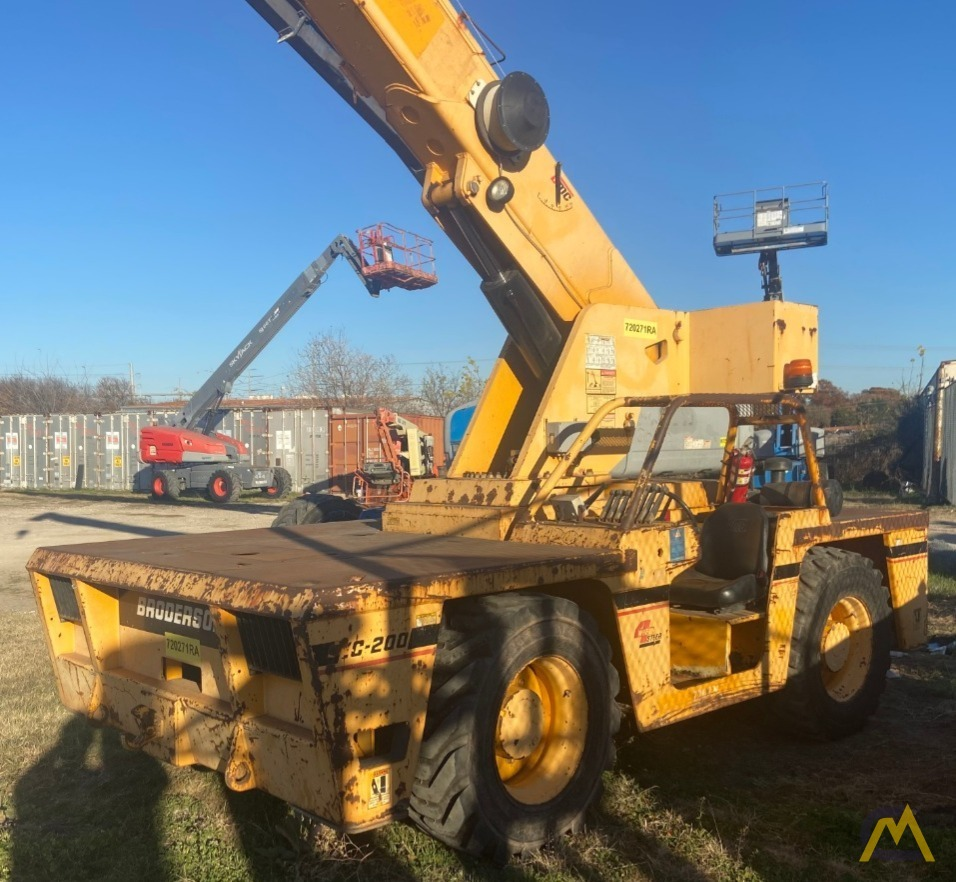 Broderson IC-200-3H 15-ton Carry Deck Industrial Crane Low Hours 22