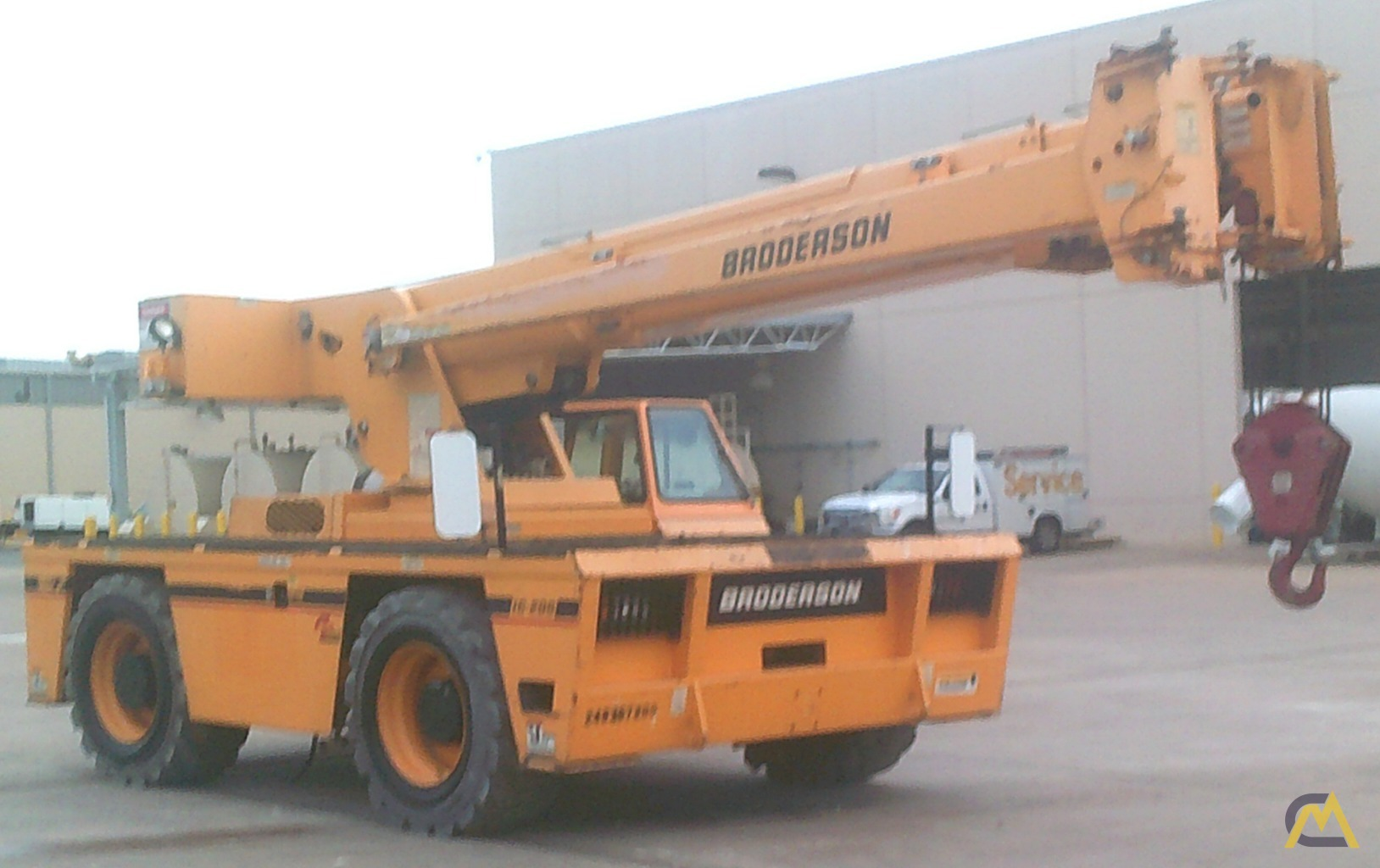 Broderson IC-200-3H 15-Ton Industrial Carry Deck Crane 2
