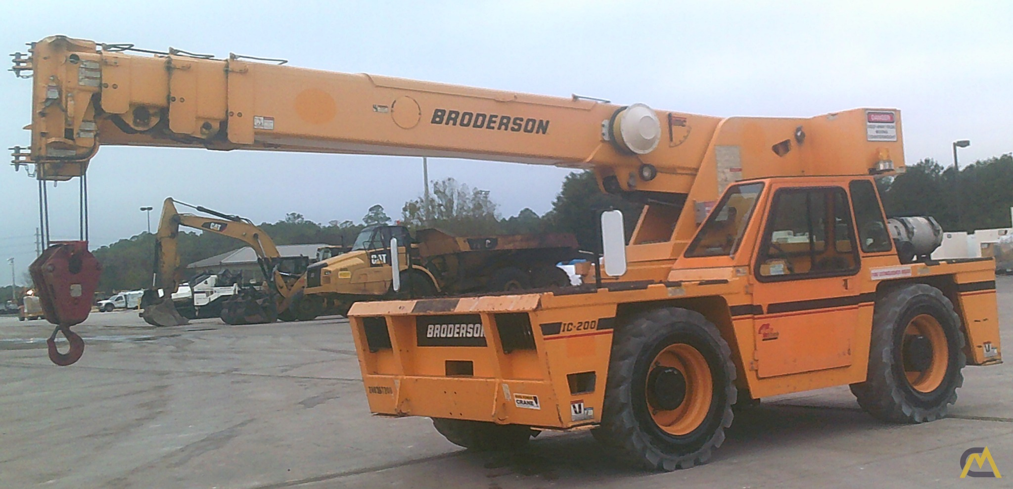 Broderson IC-200-3H 15-Ton Industrial Carry Deck Crane 3