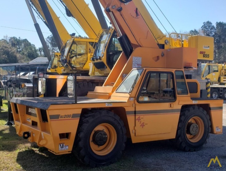 Broderson IC-200-3J 15-ton  Carry Deck Industrial Crane 2