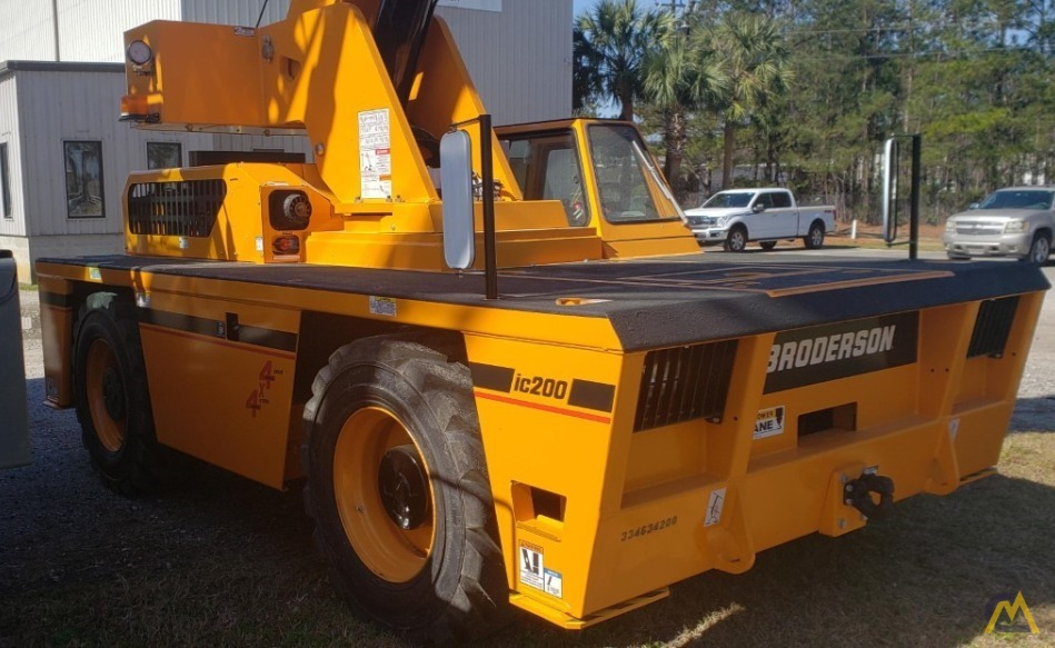 Broderson IC-200-3J 15-ton  Carry Deck Industrial Crane 0