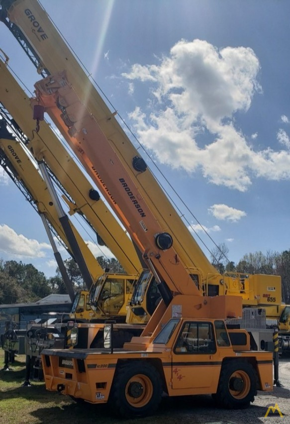 Broderson IC-200-3J 15-ton  Carry Deck Industrial Crane 1