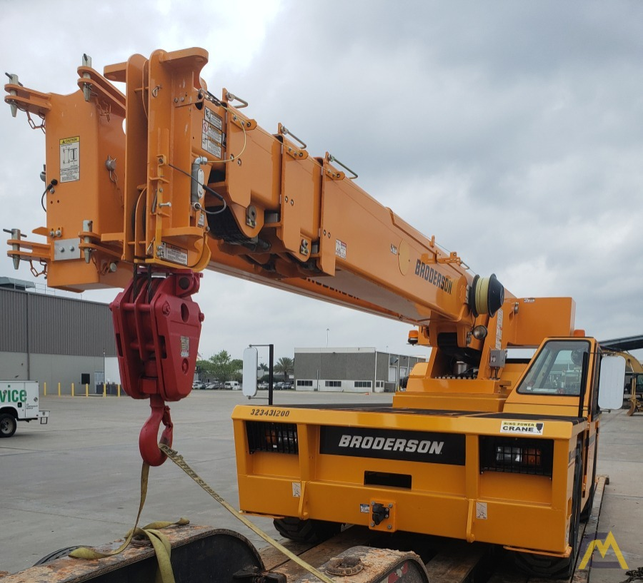 Broderson IC-200-3J 15-Ton Industrial Carry Deck Crane 1