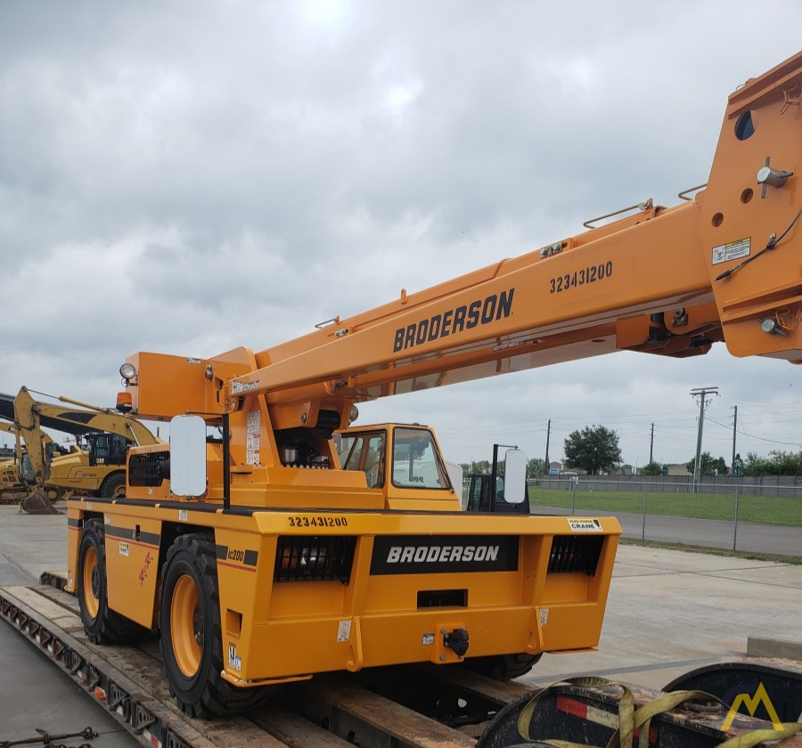 Broderson IC-200-3J 15-Ton Industrial Carry Deck Crane 0