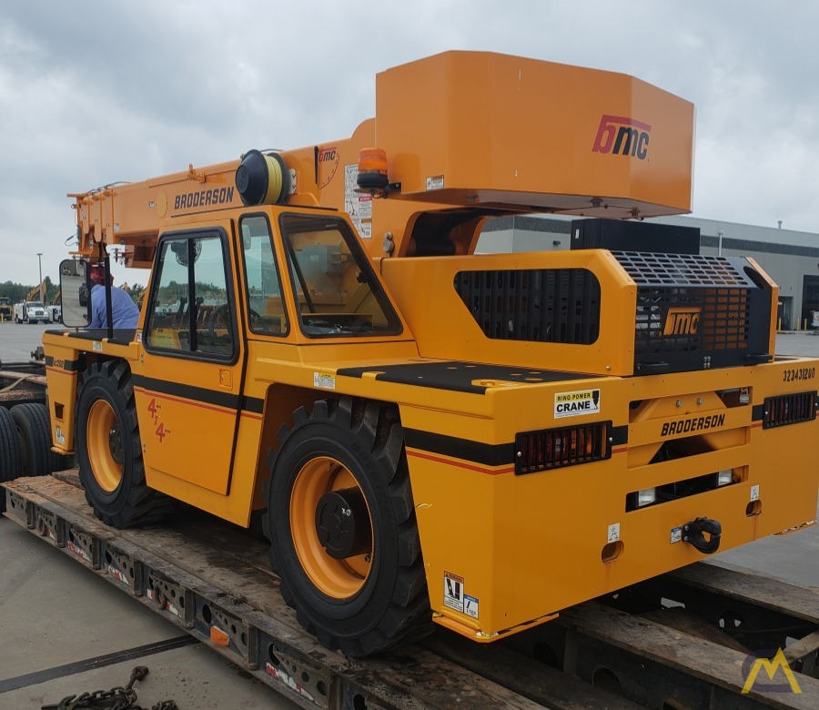 Broderson IC-200-3J 15-Ton Industrial Carry Deck Crane 2