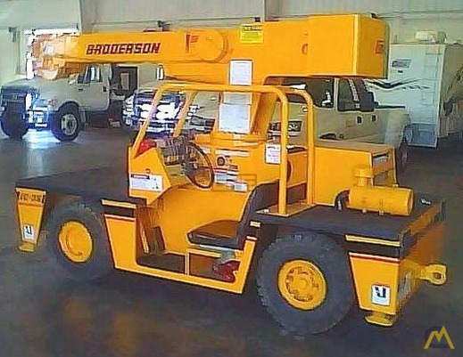 Broderson IC-35-2B 4-Ton Carry Deck Crane 0