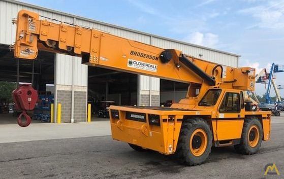 Broderson IC-400-3A 25-Ton Carry Deck Crane 0
