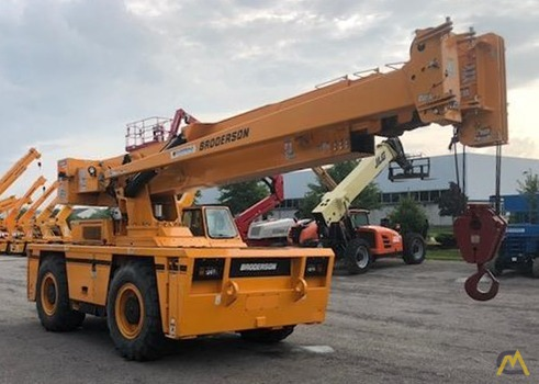 Broderson IC-400-3A 25-Ton Carry Deck Crane 2