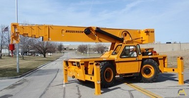 Broderson IC-400-3A 25-Ton Industrial Carry Deck Crane 1