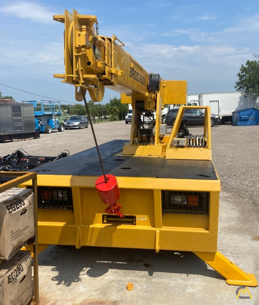 Broderson IC-80-2H 9-ton Carry Deck Industrial Crane 4