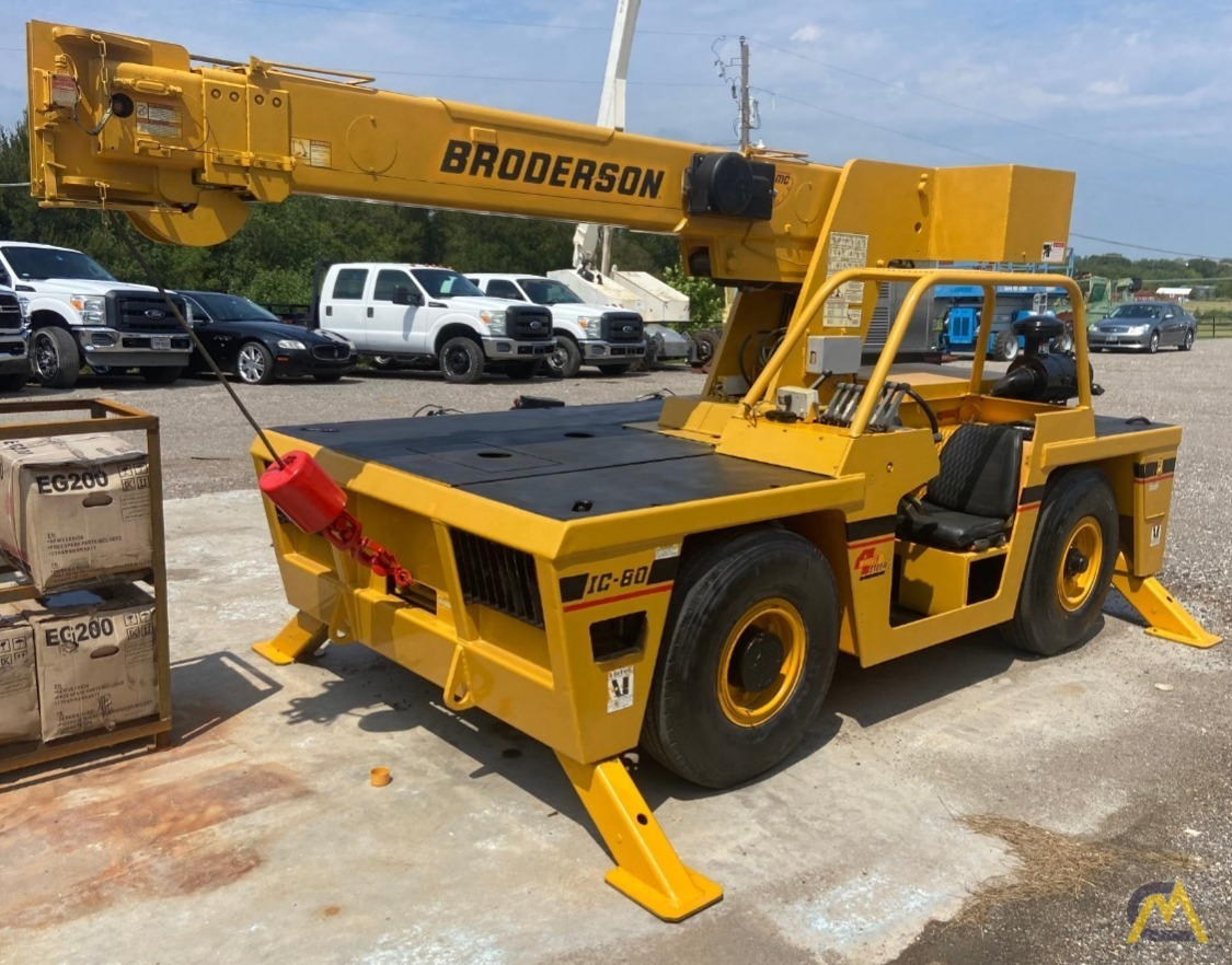 Broderson IC-80-2H 9-ton Carry Deck Industrial Crane 0