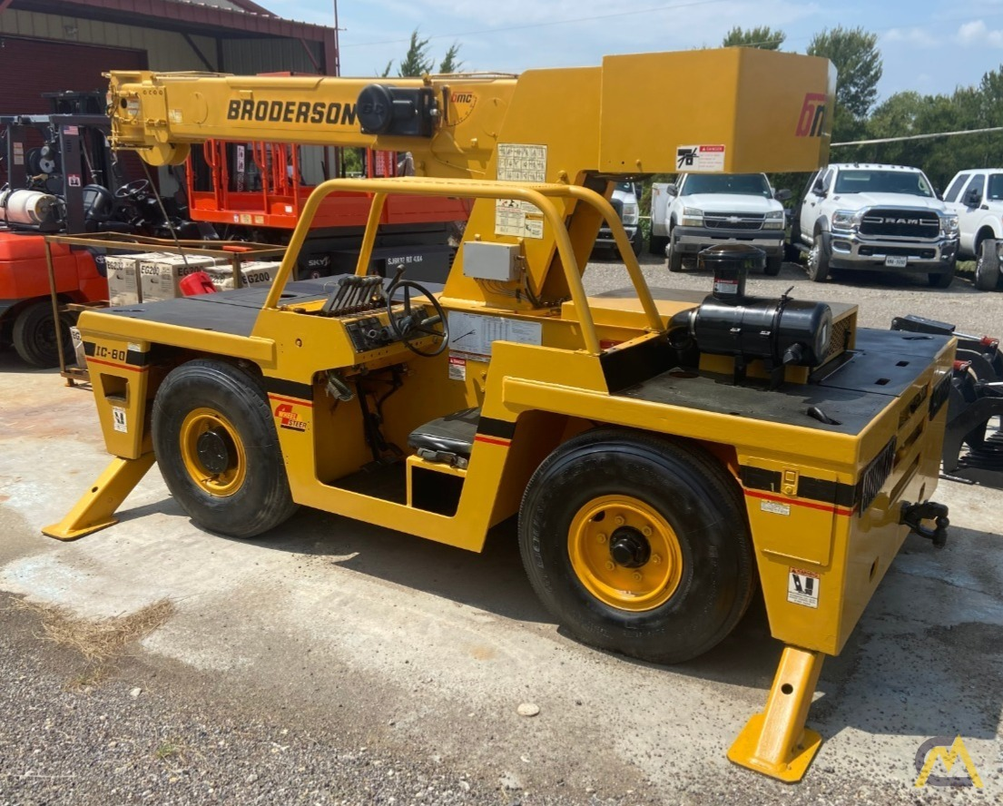 Broderson IC-80-2H 9-ton Carry Deck Industrial Crane 1