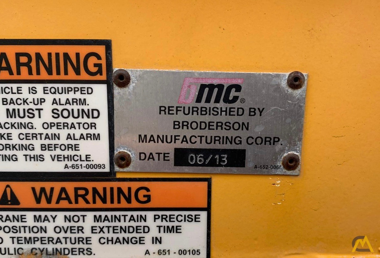 Broderson IC-80-3F 9-Ton Compact Carry Deck Crane 9