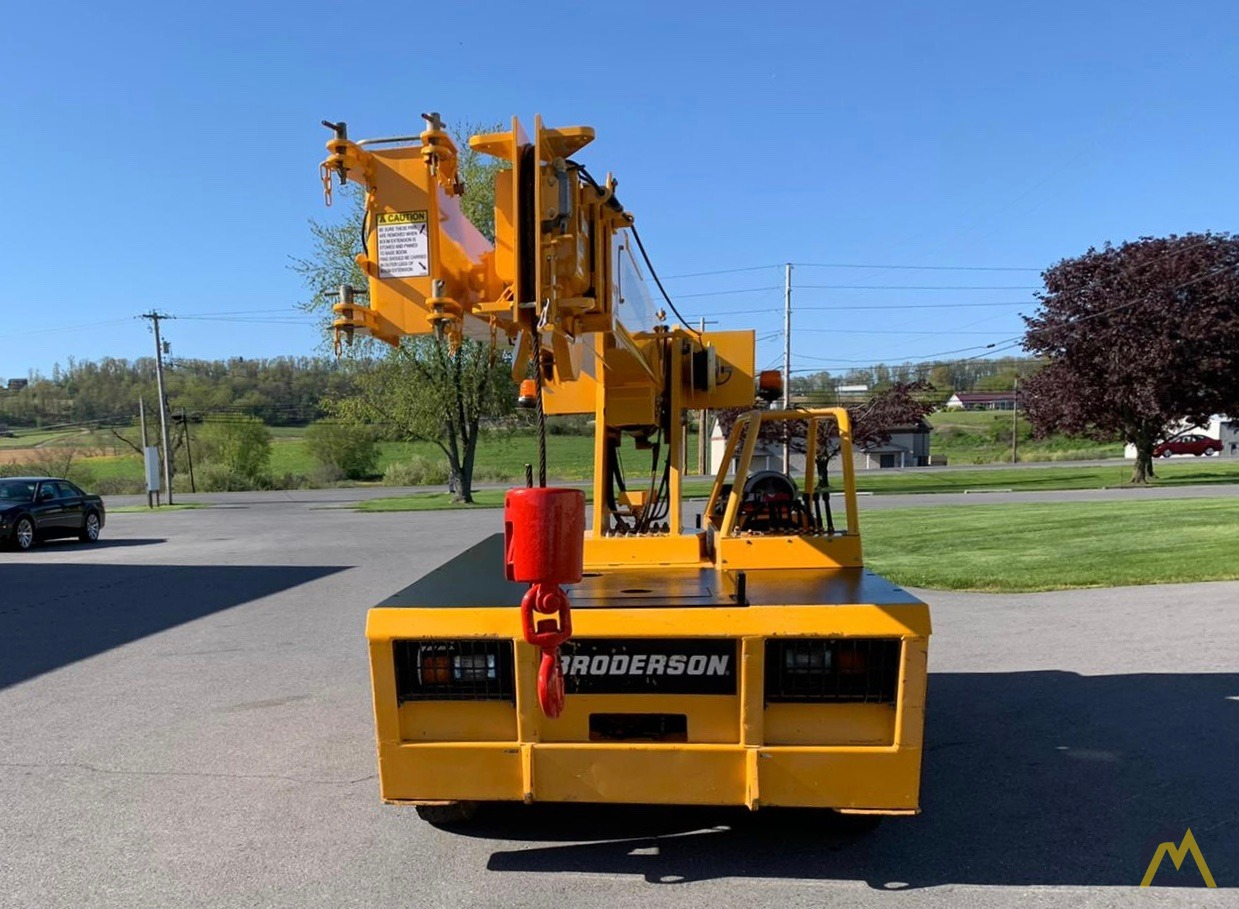 Broderson IC-80-3F 9-Ton Compact Carry Deck Crane 24