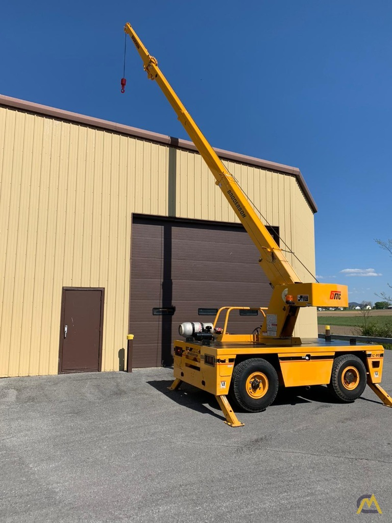 Broderson IC-80-3F 9-Ton Compact Carry Deck Crane 2
