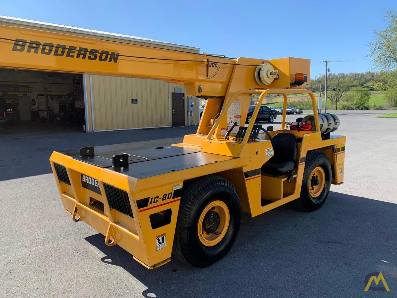 Broderson IC-80-3F 9-Ton Compact Carry Deck Crane 1