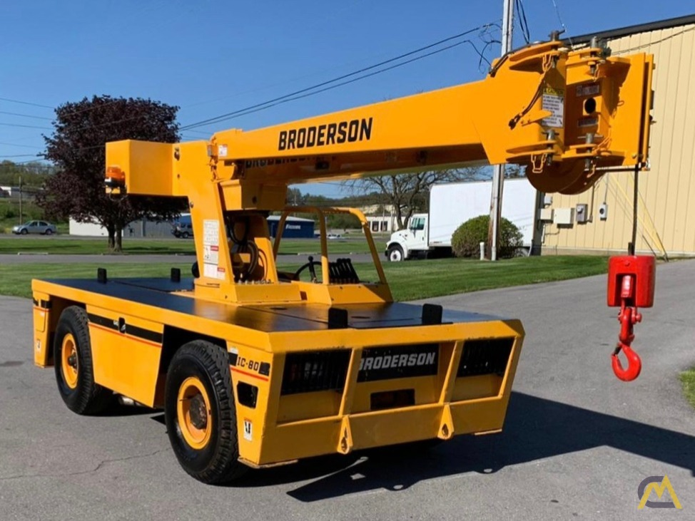 Broderson IC-80-3F 9-Ton Compact Carry Deck Crane 0