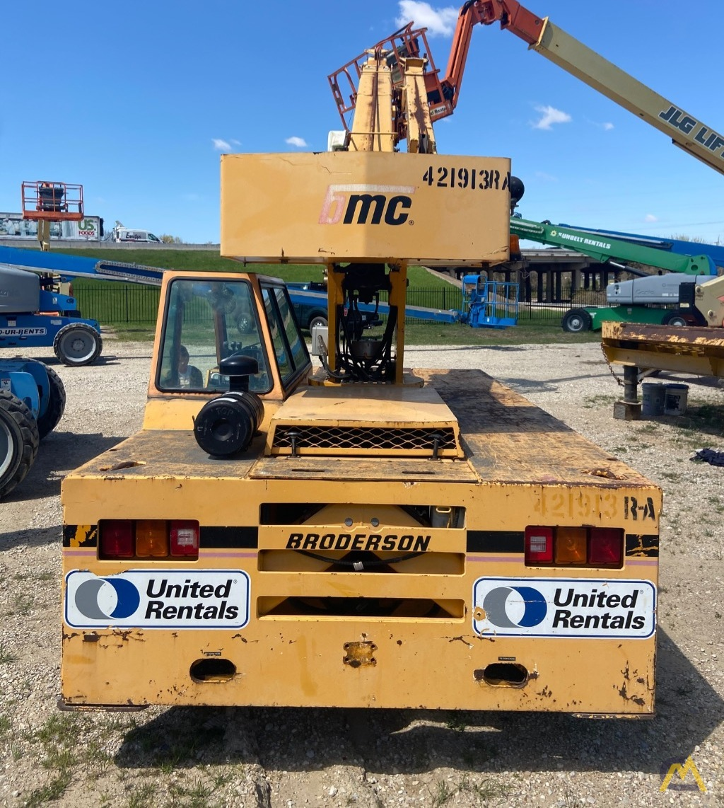Broderson IC-80-3F  9-ton REFURBISHED Industrial Carry Deck Crane  5