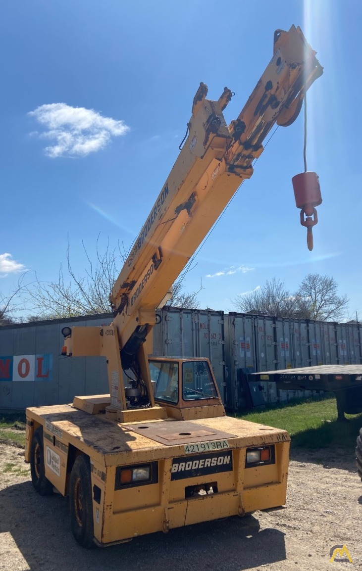Broderson IC-80-3F  9-ton REFURBISHED Industrial Carry Deck Crane  6