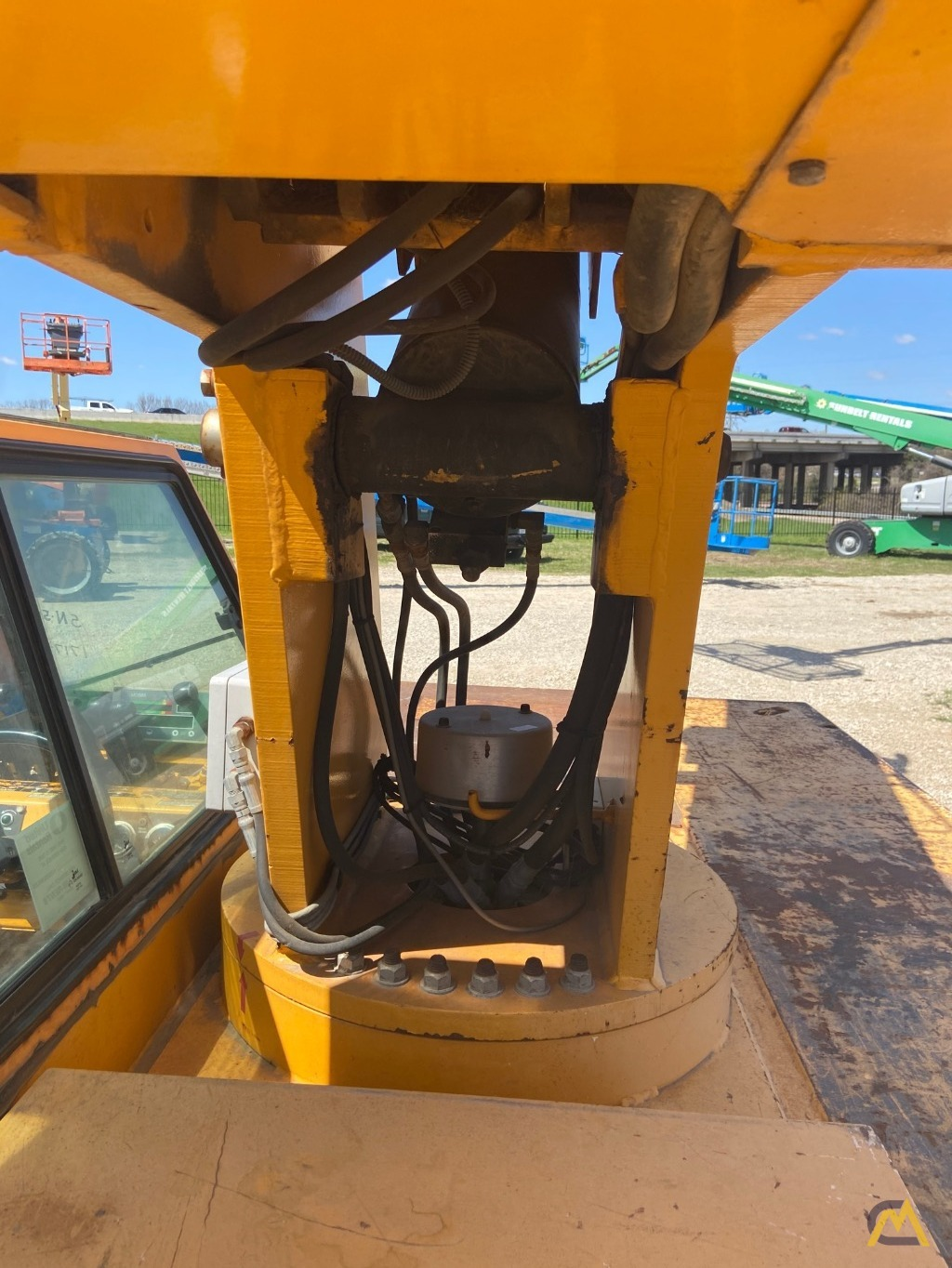 Broderson IC-80-3F  9-ton REFURBISHED Industrial Carry Deck Crane  15
