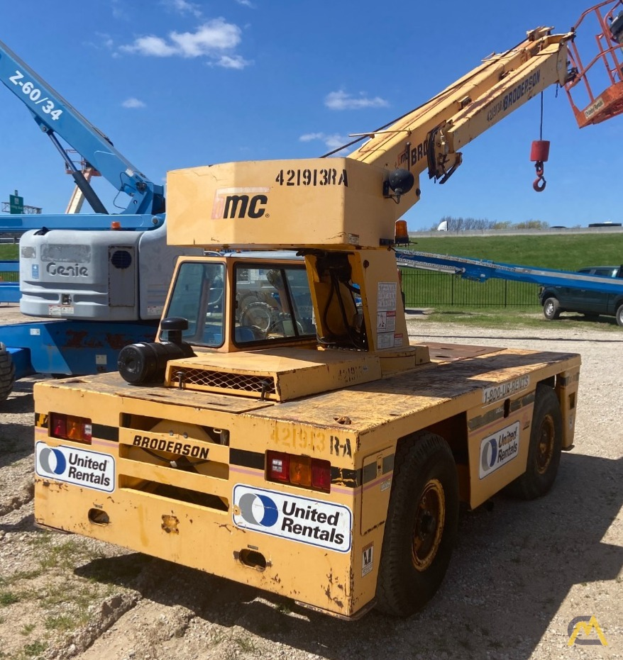 Broderson IC-80-3F  9-ton REFURBISHED Industrial Carry Deck Crane  3