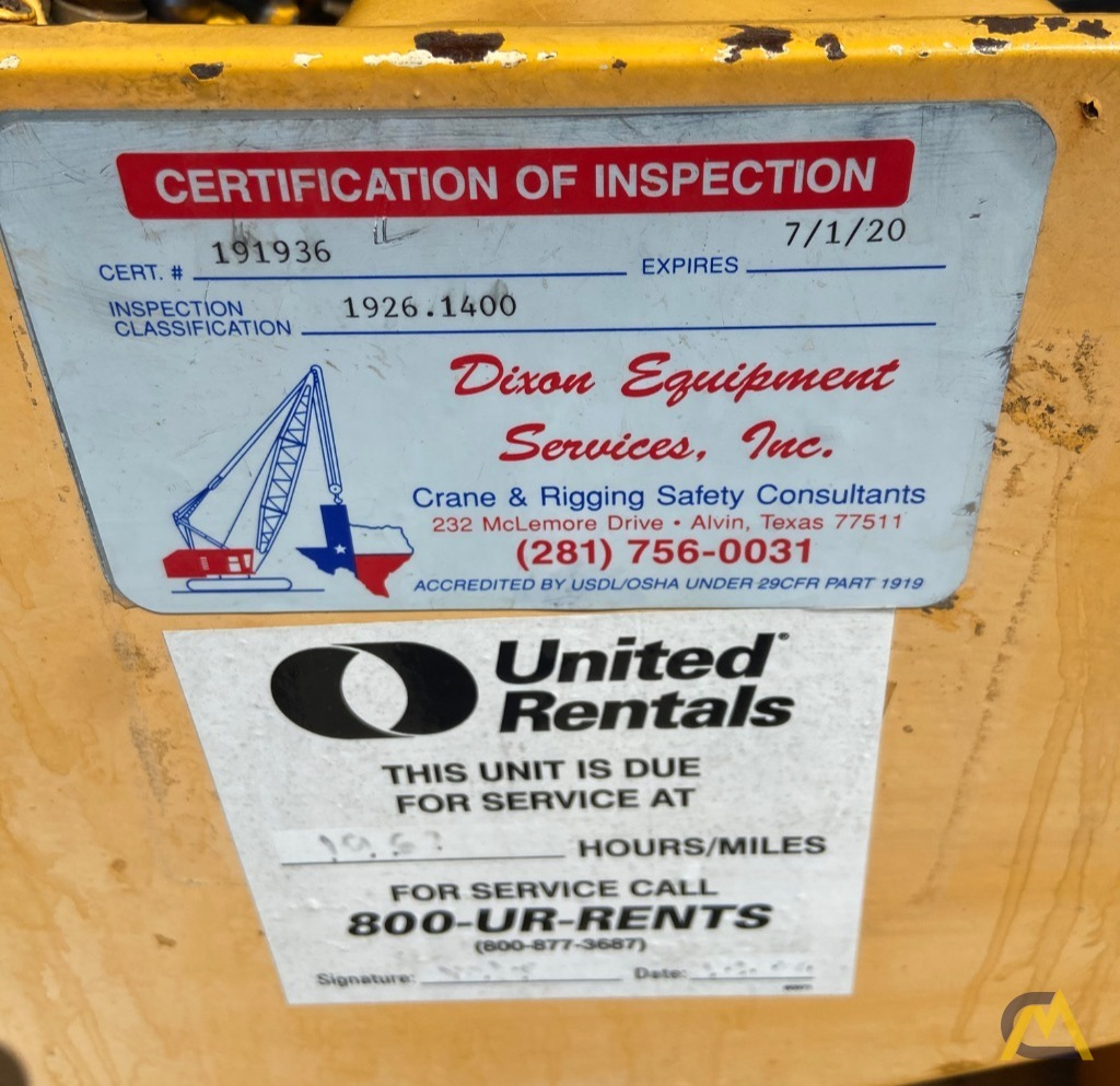 Broderson IC-80-3F  9-ton REFURBISHED Industrial Carry Deck Crane  12