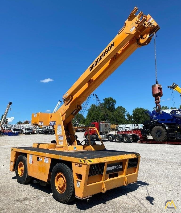 Broderson IC-80-3G 9-Ton Carry Deck Crane 0