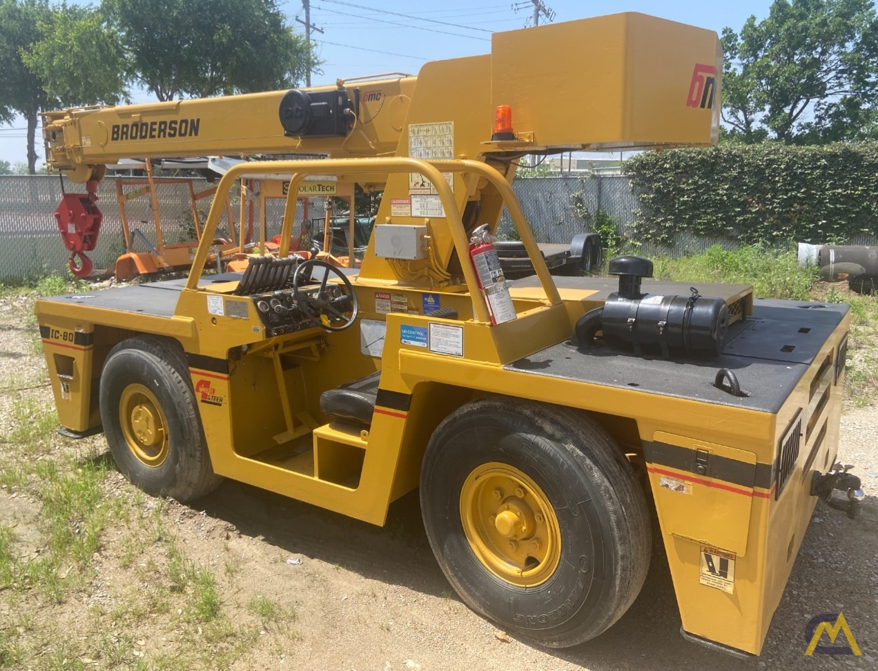 Broderson IC-80-3G 9-Ton Carry Deck Industrial Crane 2