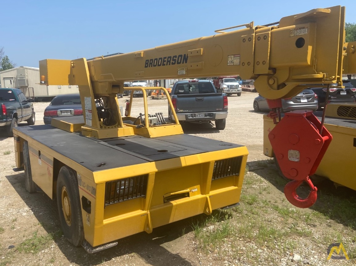 Broderson IC-80-3G 9-Ton Carry Deck Industrial Crane 1