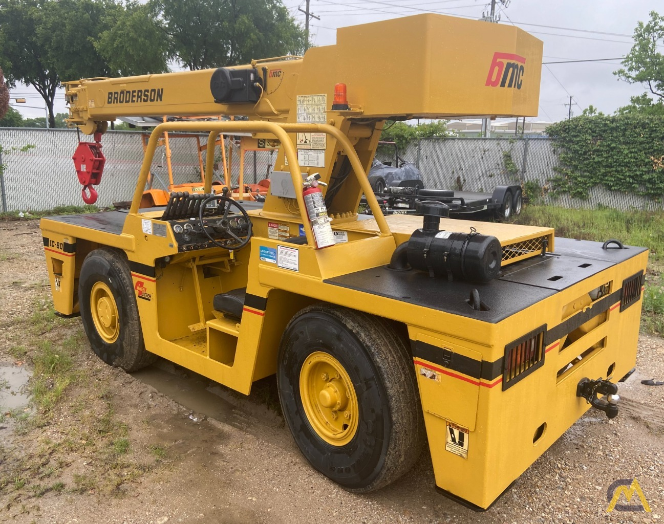 Broderson IC-80-3G 9-Ton Carry Deck Industrial Crane 4