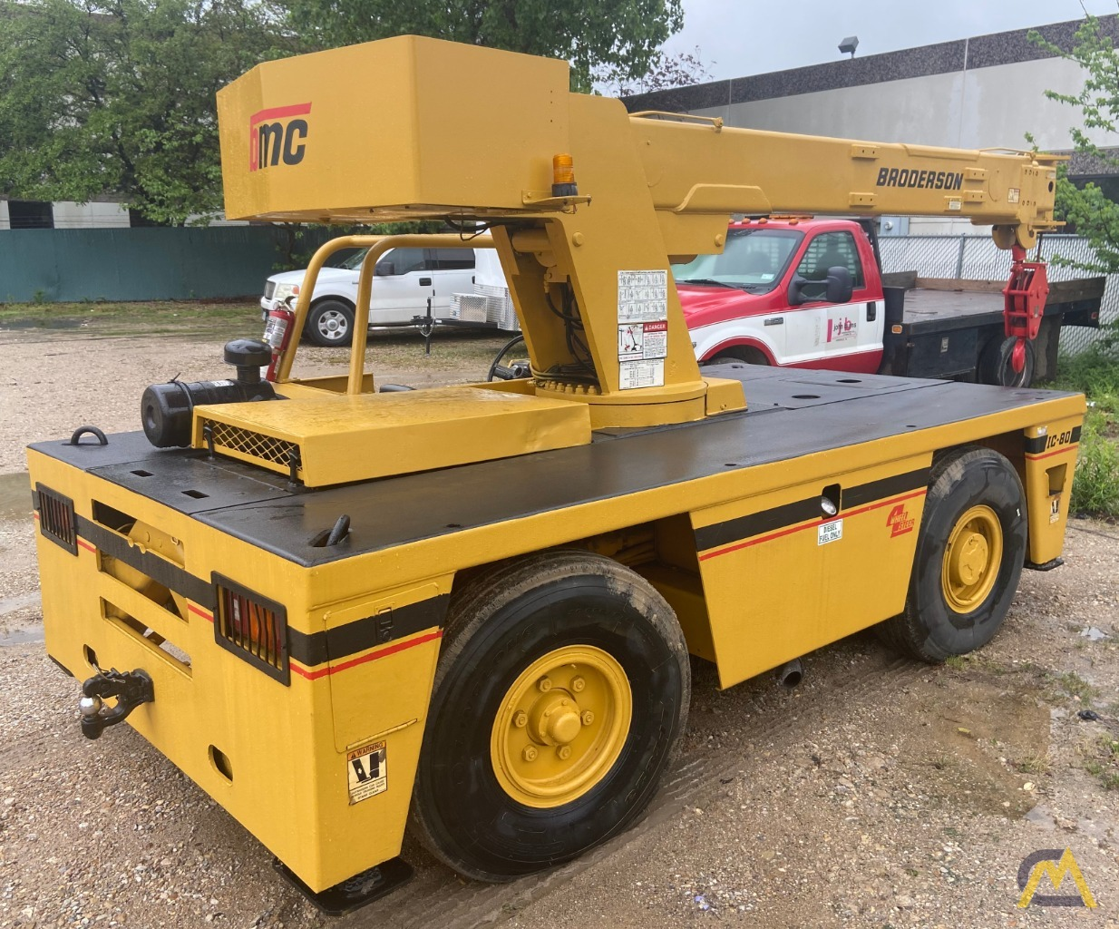 Broderson IC-80-3G 9-Ton Carry Deck Industrial Crane 5