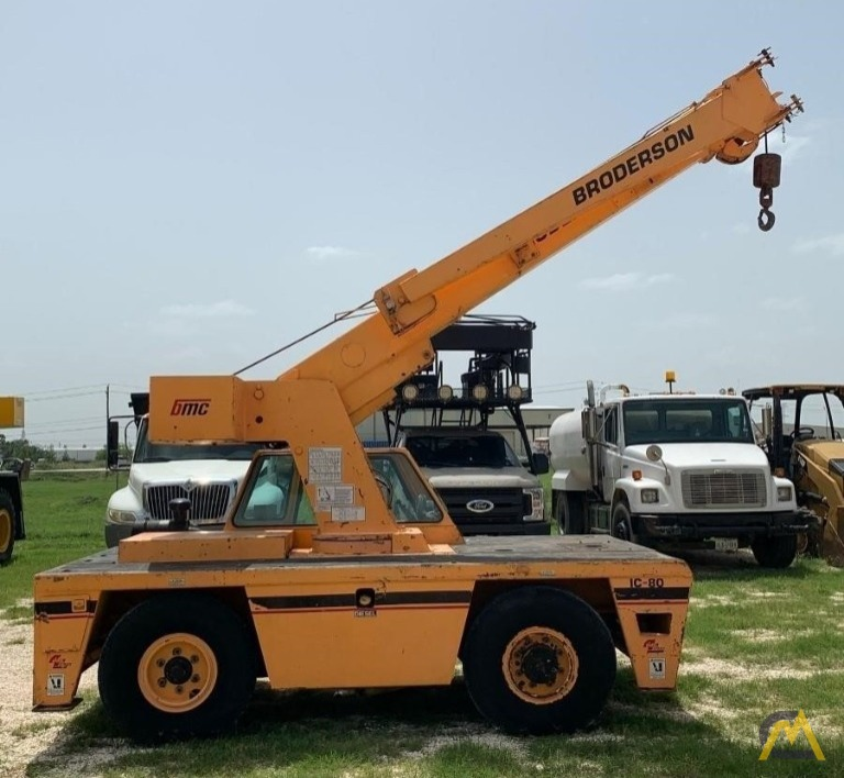 Broderson IC-80-3G 9-Ton Industrial Carry Deck Crane 1