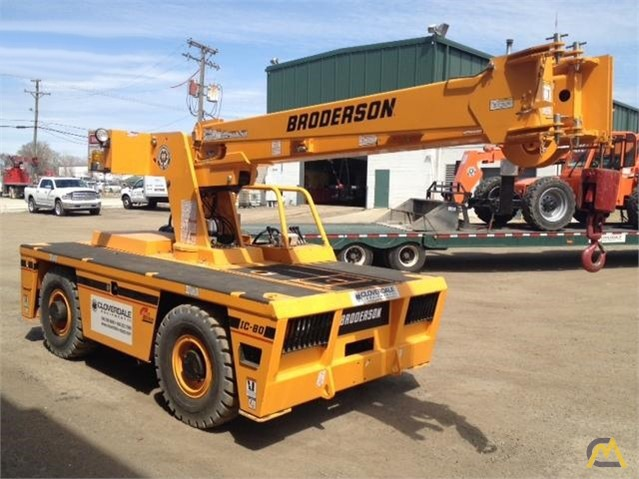 Broderson IC-80-3J 9-Ton Carry Deck Crane 1