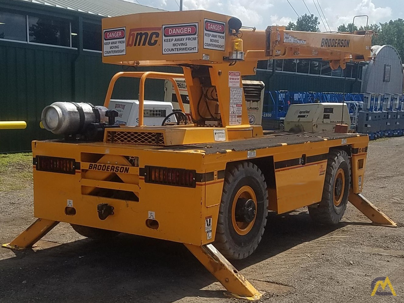 Broderson IC-80-3J 9-Ton Industrial Carry Deck Crane 2