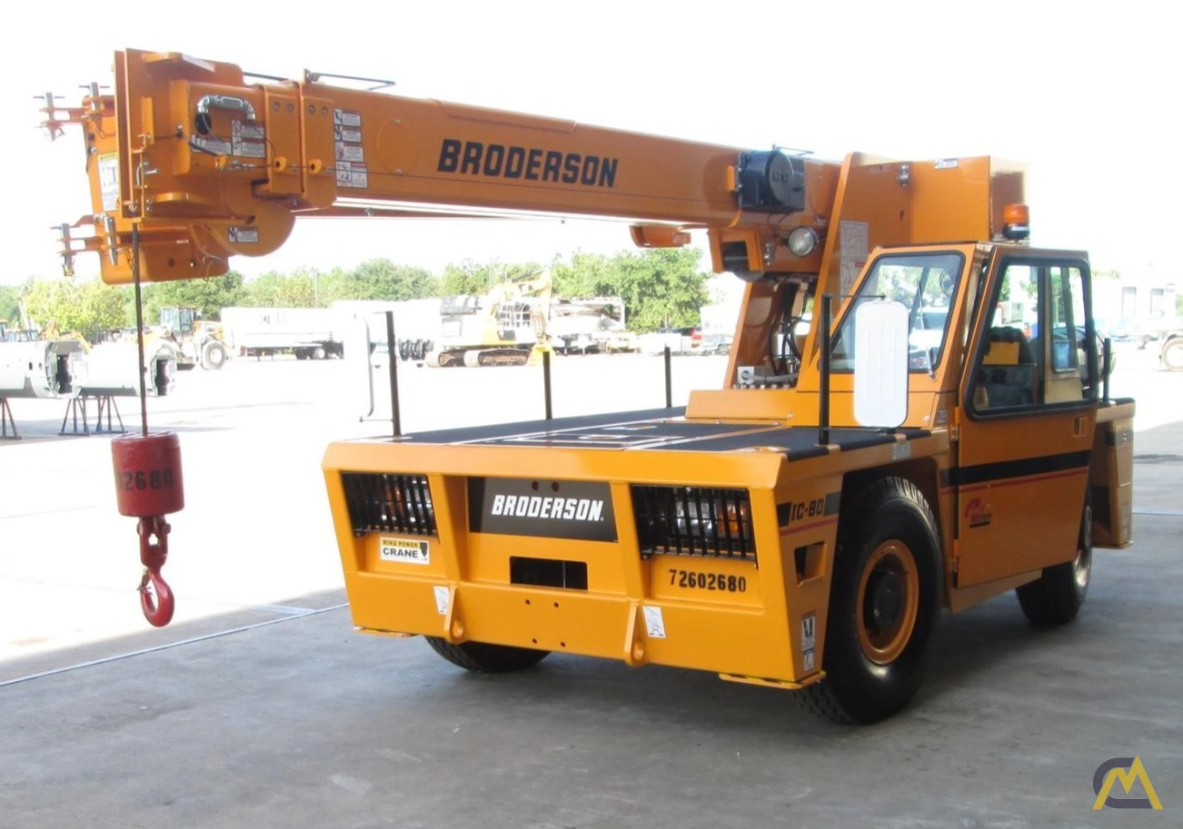 Broderson IC-80-3J 9-Ton Industrial Carry Deck Crane 0