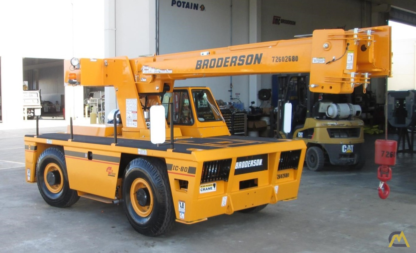 Broderson IC-80-3J 9-Ton Industrial Carry Deck Crane 3