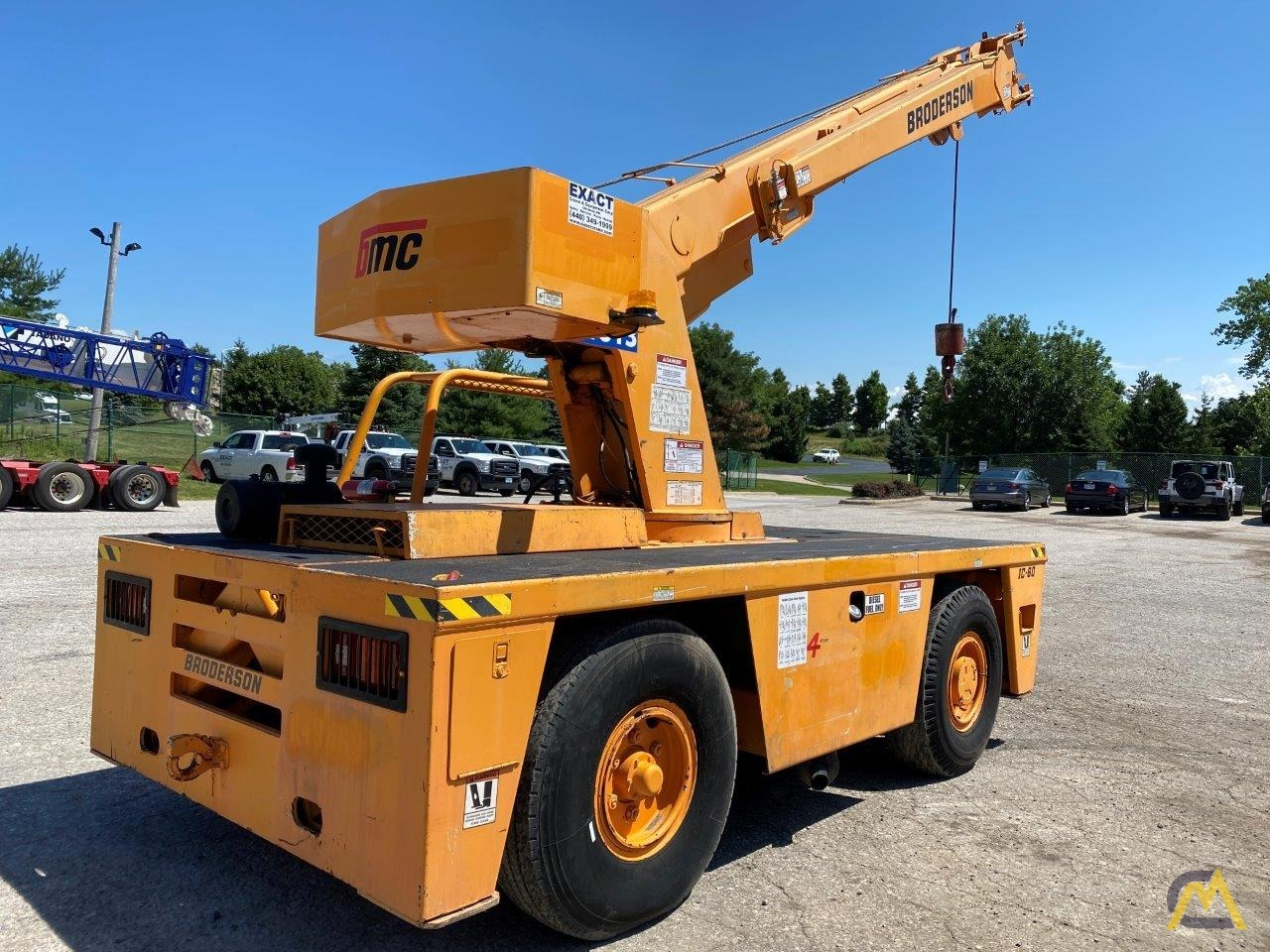 Broderson IC-80-3G 9-Ton Carry Deck Crane 2