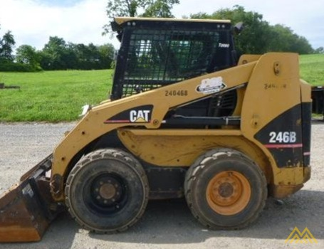 Caterpillar 246B Skid Steer Loader 0