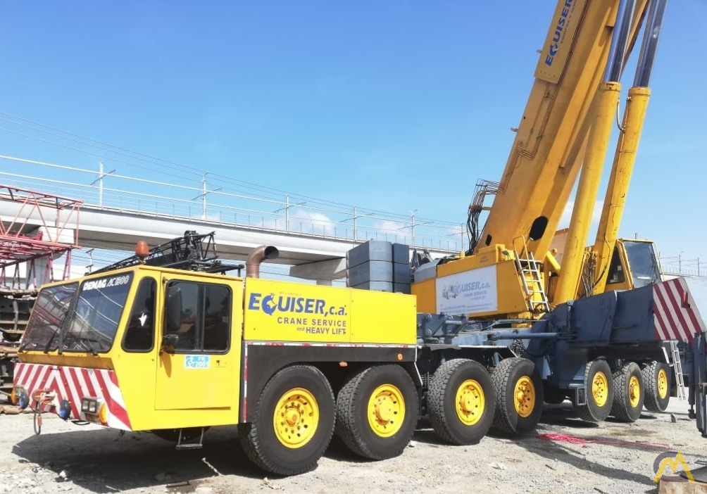 Demag AC 1300 500-Ton All Terrain Crane 4