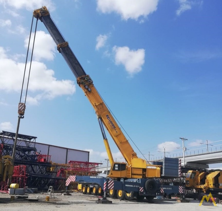 Demag AC 1300 500-Ton All Terrain Crane 5