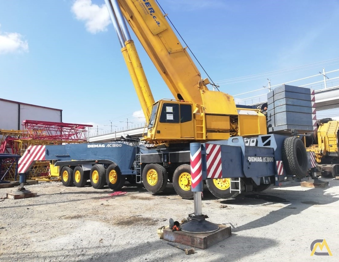 Demag AC 1300 500-Ton All Terrain Crane 0