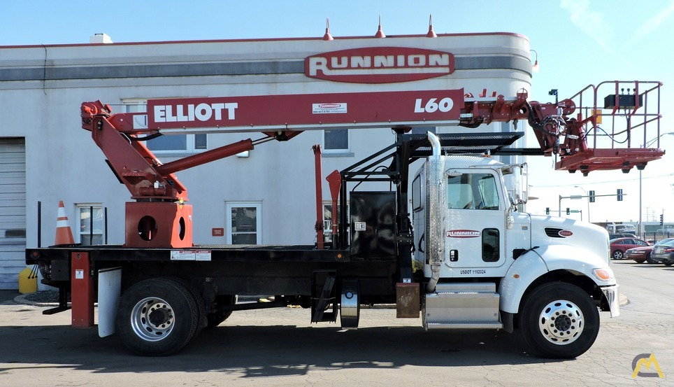 Elliott L60R 62' Aerial Work Platform on Peterbilt 337 0