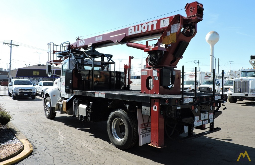 Elliott L60R 62' Aerial Work Platform on Peterbilt 337 1